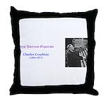 Charles Courboin Throw Pillow
