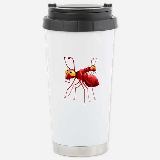 Two Red Ants Stainless Steel Travel Mug