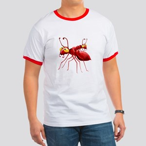 Two Red Ants Ringer T