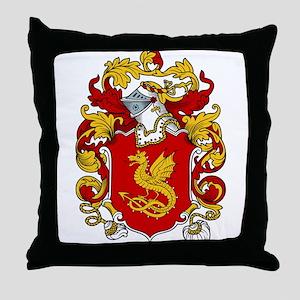 Brent Coat of Arms Throw Pillow