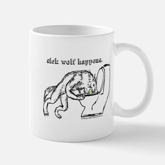 Sick Wolf Mug