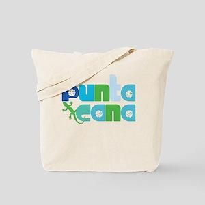 Punta Cana Azul y Verde Tote Bag