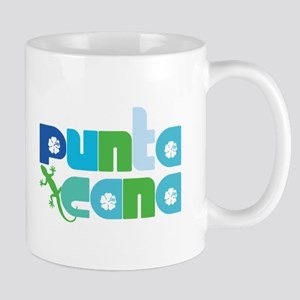 Punta Cana Azul y Verde Mug