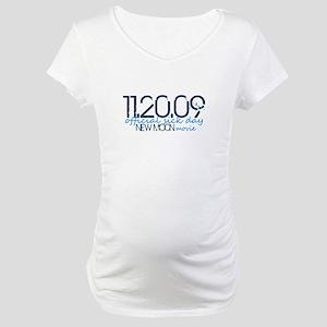 11.20.09 - blue Maternity T-Shirt
