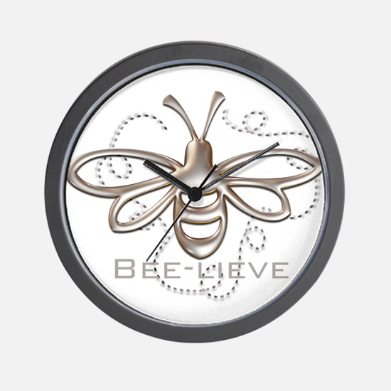 Unique Bee Wall Clock