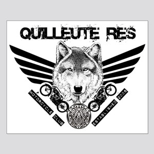 Quilleute Res Motorcycle Club Small Poster