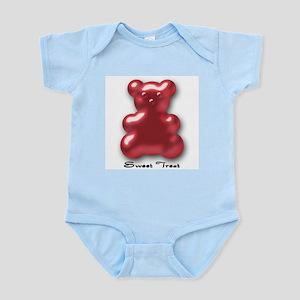 Sweet Treat Red Infant Creeper