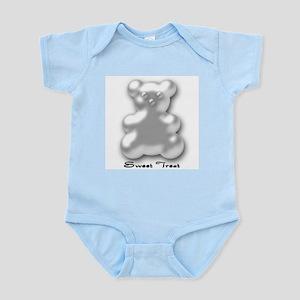 Sweet Treat White Infant Creeper