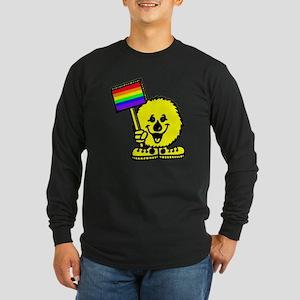 Rainbow Flag Long Sleeve Dark T-Shirt