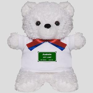Anaheim Teddy Bear