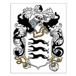 Briscoe Coat of Arms Small Poster