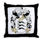 Briscoe Coat of Arms Throw Pillow