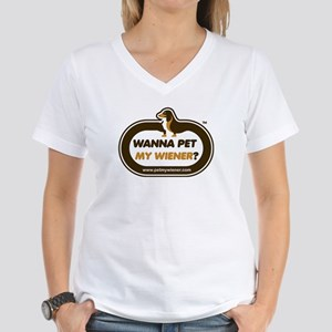 Dachshund Women's V-Neck T-Shirt