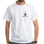 Blow Me Cupcake White T-Shirt (2 SIDED)