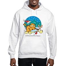 Odie Reindeer Hooded Sweatshirt