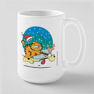 Odie Reindeer Large Mug