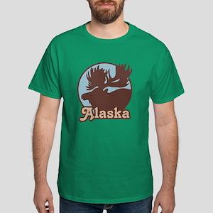 Alaska Moose Dark T-Shirt