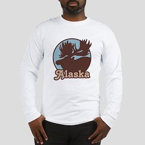 Alaska Moose Long Sleeve T-Shirt