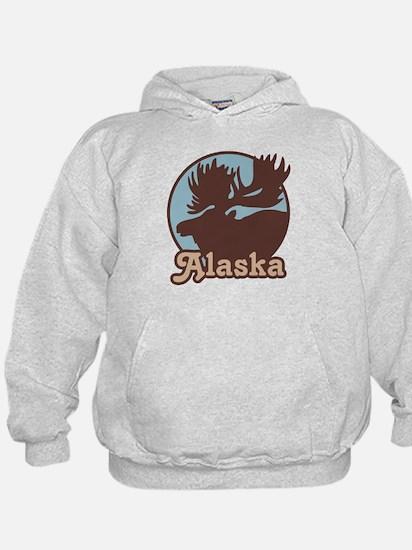 Alaska Moose Hoodie