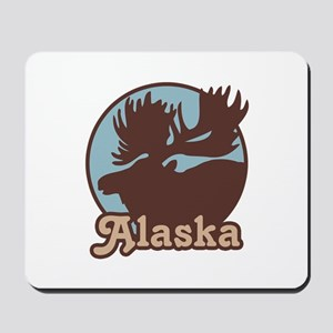 Alaska Moose Mousepad