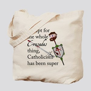 The Crusades Tote Bag