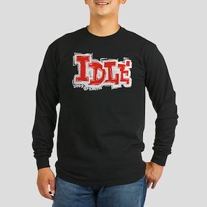 Idle Long Sleeve Dark T-Shirt