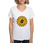 Certified Genealogy Nut Women's V-Neck T-Shirt