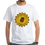 Certified Genealogy Nut White T-Shirt