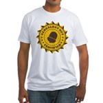 Certified Genealogy Nut Fitted T-Shirt