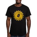 Certified Genealogy Nut Men's Fitted T-Shirt (dark