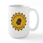 Certified Genealogy Nut Large Mug