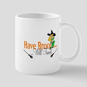 Have Broom pinup Mug