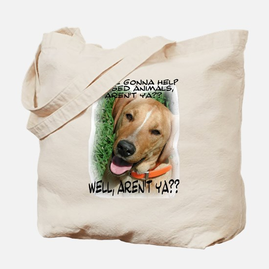 You're Gonna Help?? Tote Bag
