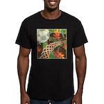 Celtic Harvest Moon Men's Fitted T-Shirt (dark)