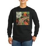 Celtic Harvest Moon Long Sleeve Dark T-Shirt