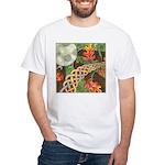 Celtic Harvest Moon White T-Shirt