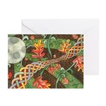 Celtic Harvest Moon Greeting Cards (Pk of 10)