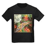 Celtic Harvest Moon Kids Dark T-Shirt