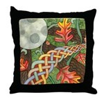 Celtic Harvest Moon Throw Pillow
