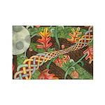 Celtic Harvest Moon Rectangle Magnet (10 pack)