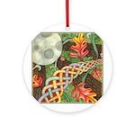 Celtic Harvest Moon Ornament (Round)