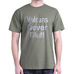 Vulcans Never Bluff Dark T-Shirt