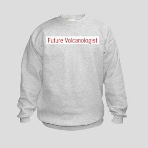 Future Volcanologist Kids Sweatshirt