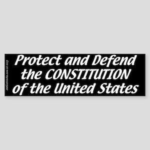 Constitutional Oath (Bumper Sticker)