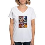 Love Spell Women's V-Neck T-Shirt