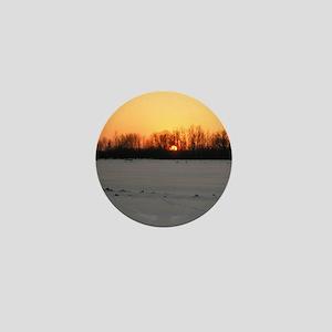 Winter Sunset 0208 Mini Button