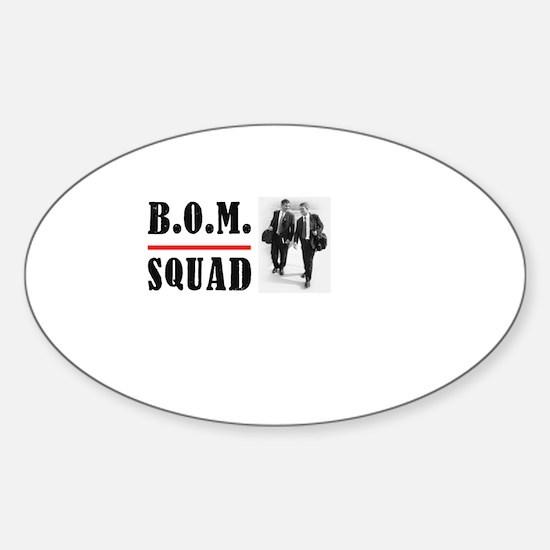 B.O.M. Squad Oval Decal