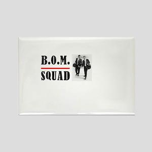 B.O.M. Squad Rectangle Magnet