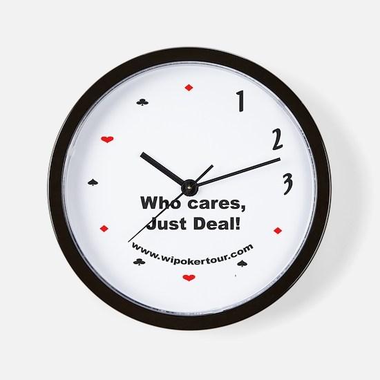 Just Deal Wall Clock