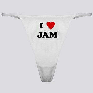 I Love JAM Classic Thong